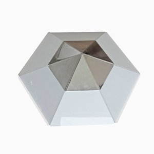 Modernist Hexagonal Ceiling Light from Kalmar