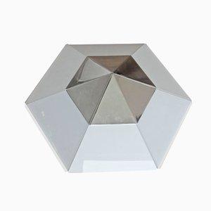 Modernist Hexagonal Ceiling Light from Kalmar