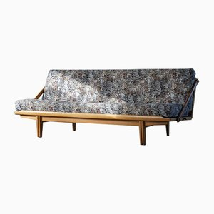 Schwedisches Tagesbett aus Massiver Eiche von Poul Volther für Gemla Möbler, 1960er