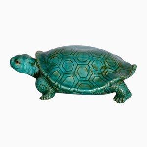 Große Italienische Keramik Schildkröte, 1950er