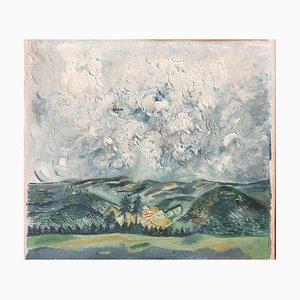 Muche Georg, pequeño Rhon Landscape, 1918