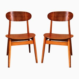 Dining Chairs by Sven Erik Fryklund for Hagafors, 1960s, Set of 12