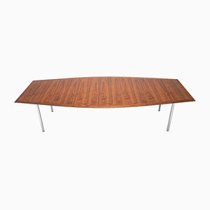 Mid-Century Rosewood Dining Table by Florence Knoll Bassett for Knoll Inc. / Knoll International