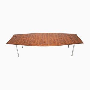 Tavolo da pranzo Mid-Century in palissandro di Florence Knoll Bassett per Knoll Inc. / Knoll International