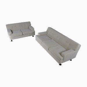 Italienisches Viereckiges Sofa von Marco Zanuso für Arflex, 1962, 2er Set