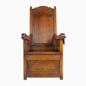 Dutch Ash Lambing Chair, 1800s