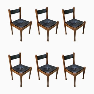 Dining Chairs by Silvio Coppola for Bernini, 1964, Set of 6