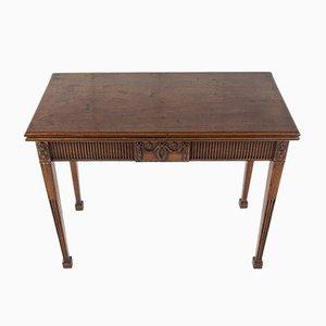 George III Mahogany Tea Table, 1700s