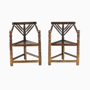 Turnerstühle, 1800er, 2er Set