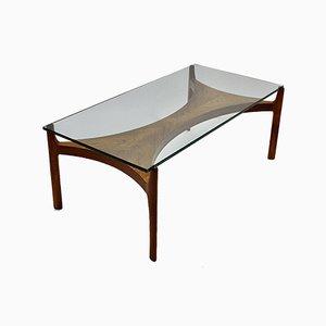 Table Basse en Teck par Sven Ellekaer, Danemark, 1960s