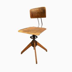 Bauhaus Architect Swivel Chair from Rowac, 1930s
