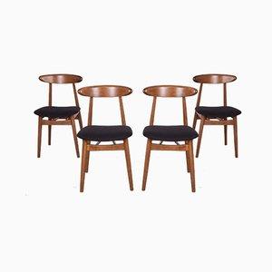 5912 Esszimmerstühle von Zamojska Furniture Factory, 1960er, Set of 4
