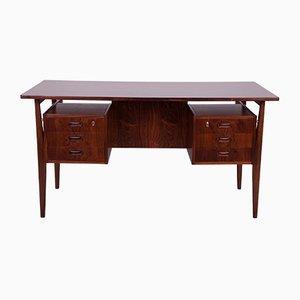 Rosewood Desk by Gunnar Nielsen Tibergaard for Tibergaard, 1960s