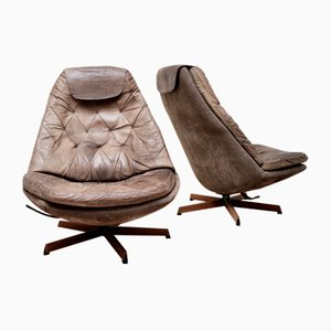 Vintage MS68 Turn & Tilt Lounge Chairs by Madsen & Schubel for Bovenkamp, Set of 2