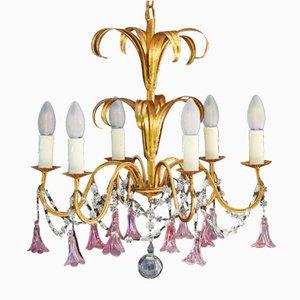 Lustre à Six Lampes, France, 1950s
