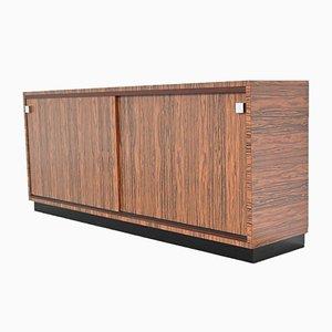 Maßgefertigtes Sideboard aus Zebrano von Belform, 1960er