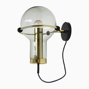 Niederländische Maxi Globe Wandlampe von Raak Amsterdam, 1965