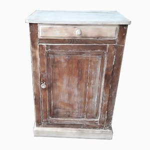 Vintage Artisanal Fir Cabinet
