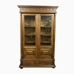Gothic Walnut Wall Unit