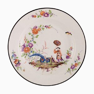 Antique Meissen Bowl In Hand Painted Porcelain in the Japanese Style, 19th-Century