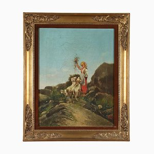 La Pastorella Painting, 1883