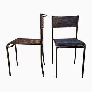 Spaghetti Gemini 100 Chairs by Giandomenico Belotti for Alias, 1980s, Set of 2