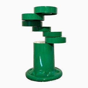 Space Age Pluvium Green Umbrella Stand by Giancarlo Piretti for Anonima Castelli, 1970s