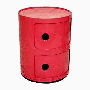 Cylindrical Modular Cabinet by Anna Castelli Ferrieri for Kartell, 1972