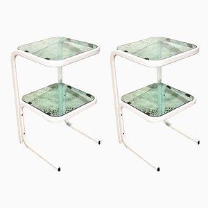 Italian Modern Nightstands, Set of 2