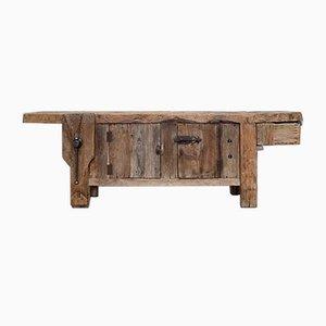 Antiker Arbeitstisch aus Holz