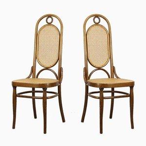Chaises de Salon 207R de Thonet, 1970s, Set de 2