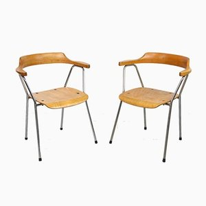 Mid-Century 4455 Dining Chairs by Niko Kralj for Stol Kamnik, Set of 2