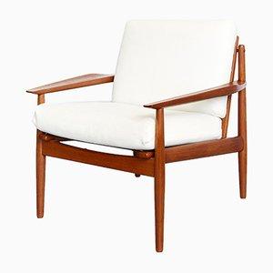 Teak Sessel von Arne Vodder für Glostrup, 1970er