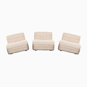 Modulare Vintage Sessel von Tito Agnoli für Arflex, 1970er, 3er Set