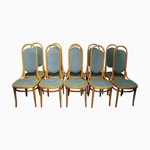 Bentwood Dining Chairs from Thonet, 1979, Set of 10