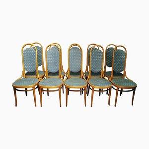 Bugholz Esszimmerstühle von Thonet, 1979, 10er Set