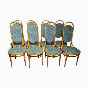 Deutsche Esszimmerstühle von Thonet, 1979, 8er Set