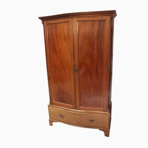Antique Mahogany Wardrobe, 1900s