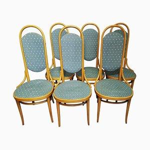 Deutsche Esszimmerstühle von Thonet, 1979, 6er Set