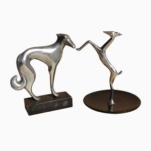 Karl Hagenauer, Small Sculptures, 1930s, Set of 2