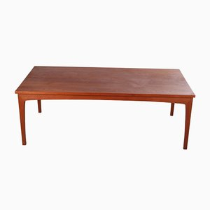 Danish Teak Coffee Table by Niels Bach, 1960s