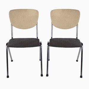 Küchenstühle im Stil von Gispen, 1960er, 2er Set