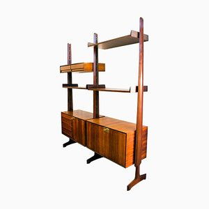 Rosewood Shelf by Edmondo Palutari for Dassi, 1963