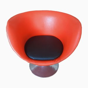 Swivel Chair by Lennart Bender for Åry Stålmöbler Ab, 1960s