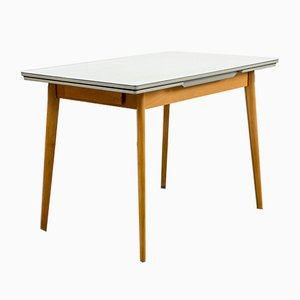 Beech & Formica Dining Table, 1950s