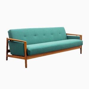 Walnuss Sofa, 1960er