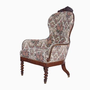 Antique Lounge Chair, 1800s