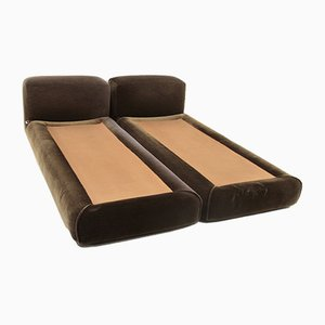 Le Mura Beds by Mario Bellini for Cassina, 1970s, Set of 2