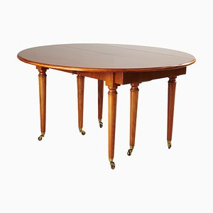 English Mahogany Gala Dining Table by Harald Westerberg, 1960s