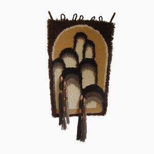 Pop Art Wandteppich aus Wolle, 1970er